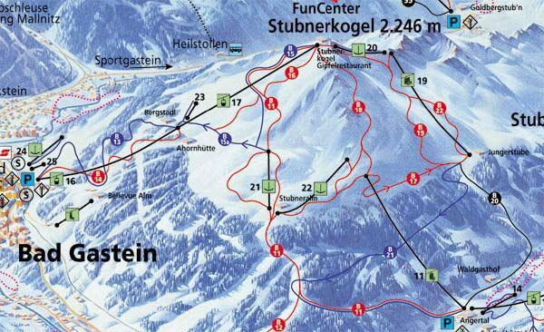 Bad Gastein skijalište Austrija
