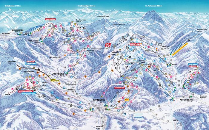 kitcbuhel ski karta