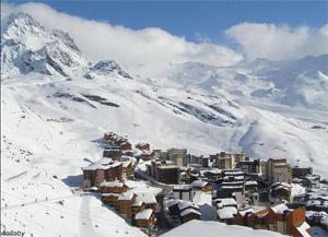 skijanje Francuska Val Thorens