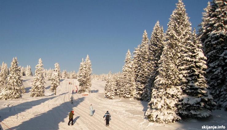 skijanje Slovenija - skijalište Rogla