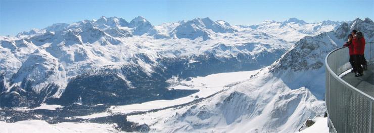skijanje Švicarska  St. Moritz